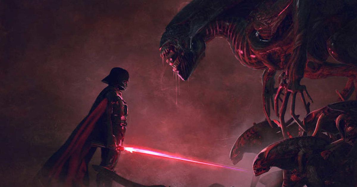 9 Darth Vader Vs Xenomorphs Fan-Arts Will Tantalise Your ...