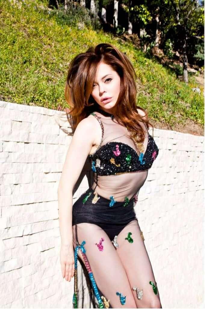 rose mcgowan bikini